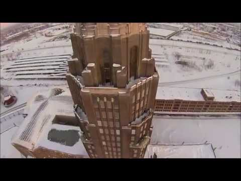 Buffalo Central Terminal, A World Class Complex. NYC station, Drone Video