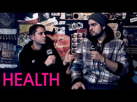 Jake Duzsik Of HEALTH Talks to Andreas About Death Magic - Full Interview, 2015
