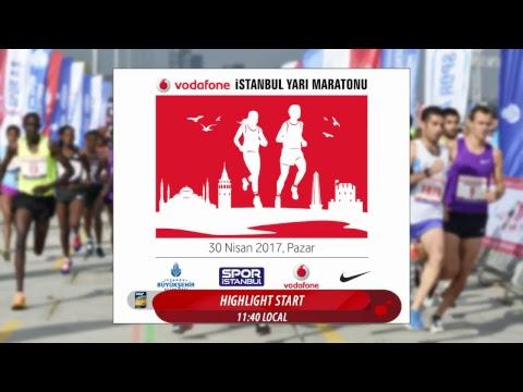 Vodafone İstanbul Yarı Maratonu Canlı Yayın