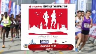 Vodafone İstanbul Yarı Maratonu Canlı Yayın 30.04.2017