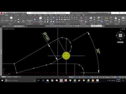 Bài 18 Hướng dẫn khai triển 2 ống đâm xuyên nhau bằng thủ công