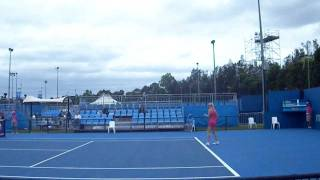 Urszula Radwanska vs Sally Peers WTA Sydney 2012