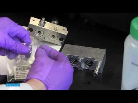 HPLC Maintenance - Replacing the Pump Seals on an  Agilent 1100/1200/1260 HPLC Pump