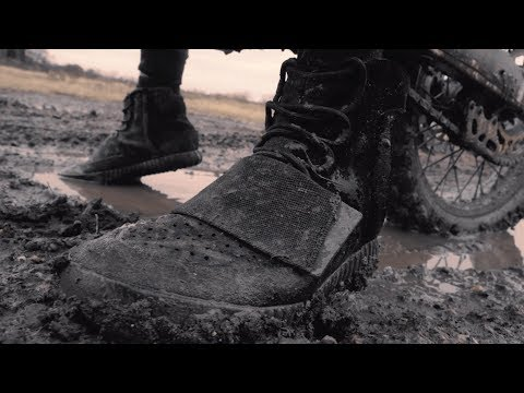 How To Clean Yeezy 750 Boost TRIPLE BLACK - Extreme Clean with Crep Protect Cure
