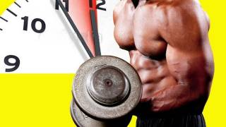 Muskelaufbau bei Zeitmangel für Bodybuilder und Kraftsportler