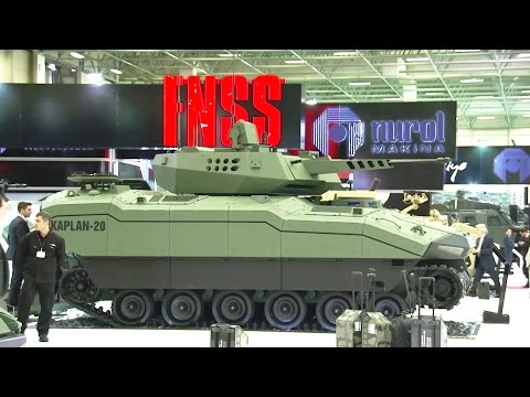 FNSS - New Military Assets Static Display At IDEF 2015 [1080p]