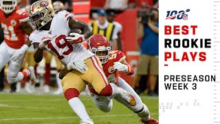 Best Rookie Plays Preseason Week 3 | NFL 2019 Highlights