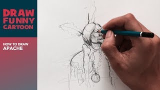 HOW TO DRAW APACHE