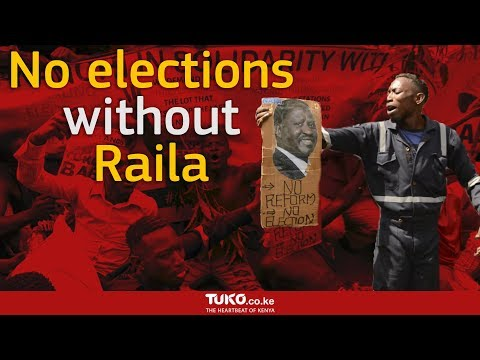 No elections no reforms demos in Nairobi