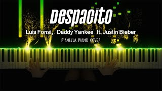 Download lagu Luis Fonsi , Daddy Yankee - DESPACITO (ft. Justin Bieber) | Piano Cover by Pianella Piano