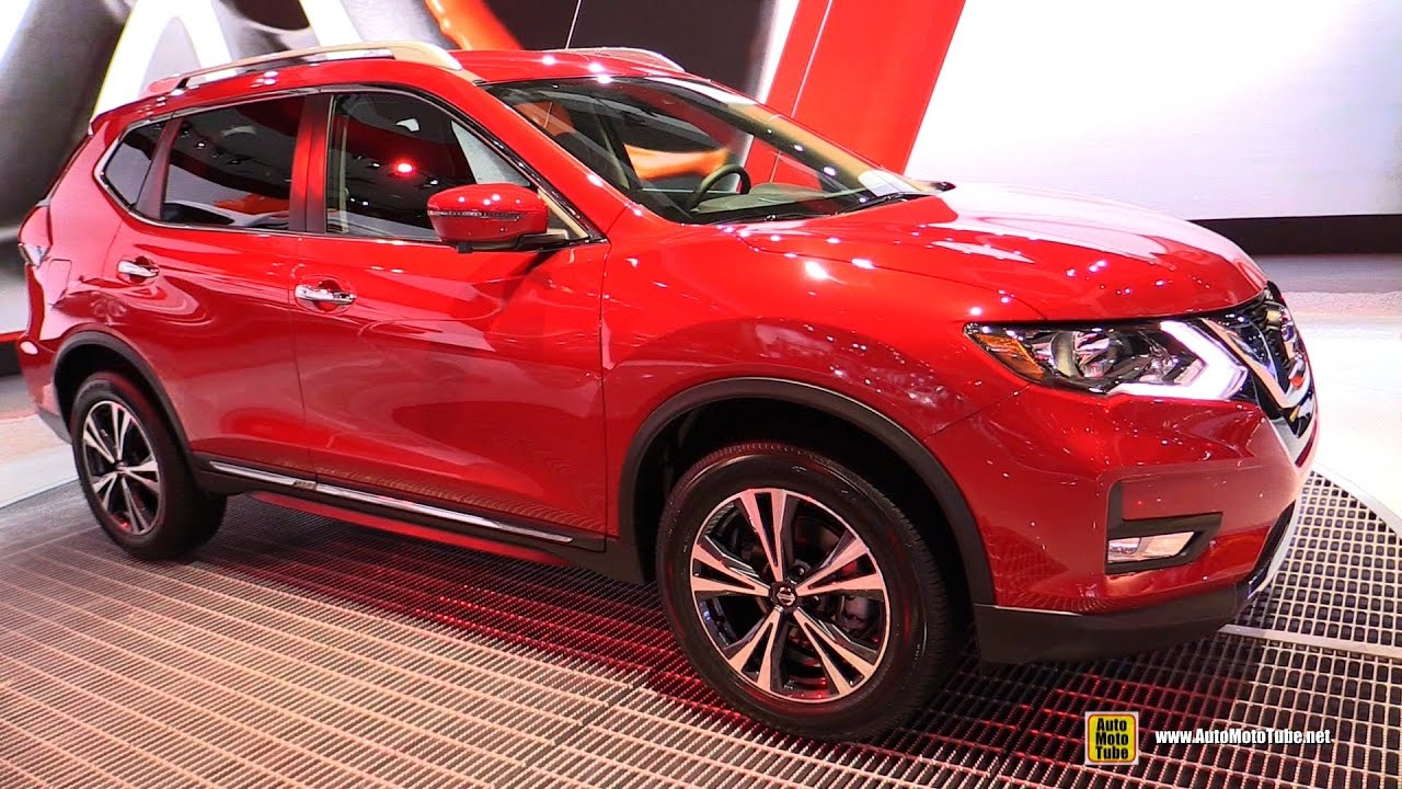 2017 Nissan Rogue Sv Awd Exterior And Interior Walkaround 2016 La Auto Show You