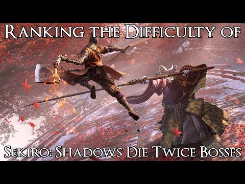 Ranking The Sekiro: Shadows Die Twice Bosses From Easiest To Hardest