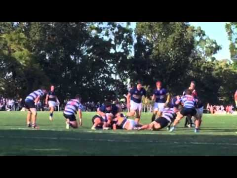 Churchie v Nudgee 2015 Rugby Nail in the coffin try