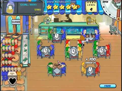 Diner Dash Level 3-4