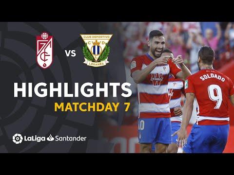 Highlights Granada CF Vs CD Leganés (1-0)