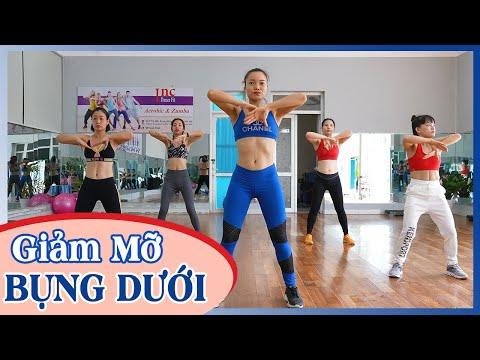 Bài Tập Giảm Mỡ Bụng Cho Người Mới - Giảm MỠ BỤNG DƯỚI Nhanh Chóng | Inc Dance Fit