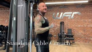How to do the Standing Cable Crunch