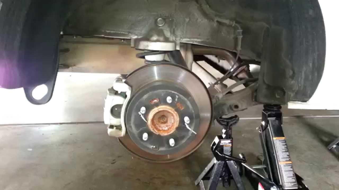 Kia Soul: Rear Disc Brake. Replacement
