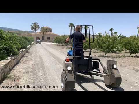 Portapalet Hidráulico Todo-Terreno video