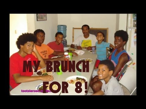 My Brunch for 8!- Black and natural living in Mexico | TootsieRoad