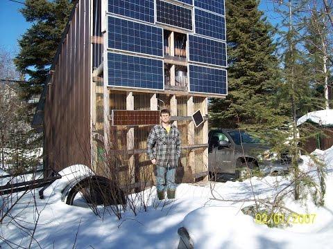Off The Grid : Bears and Generators (Solar Power) DIY Back Up Generator