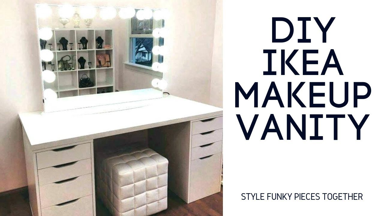Ikea Makeup Vanity Dupe How To Spend