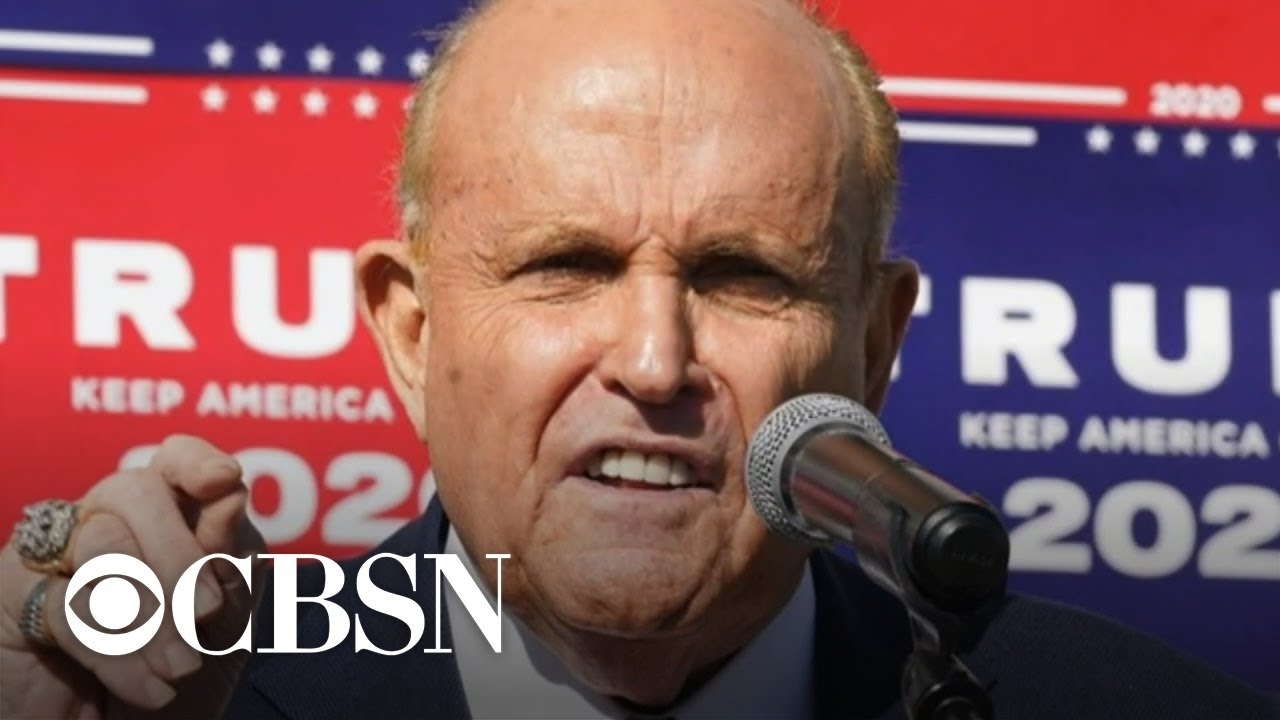 Rudy Giuliani's law license suspended by New York court