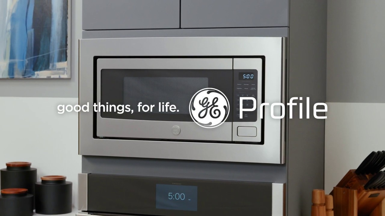 ge profile countertop microwave oven built in capable microwave