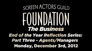 The Business: End of the Year Reflection Series: Part Three - Agents/Managers