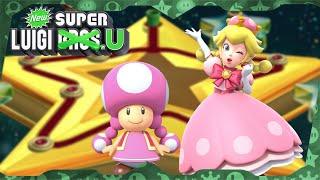 New Super Luigi U Deluxe ᴴᴰ   World 9 (All Star Coins) Solo Toadette