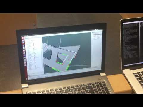 ROS Autonomous Navigation using Timed Elastic Band (TEB) Local Planner