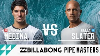 Gabriel Medina vs. Kelly Slater - Round Five, Heat 3 - Billabong Pipe Masters 2017