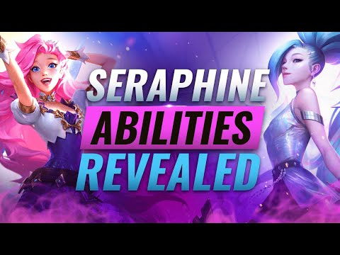 NEW CHAMPION SERAPHINE: ALL ABILITIES REVEALED - League of Legends