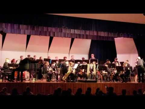 Indian Valley Middle School Jazz Band - Gold On The Ceiling