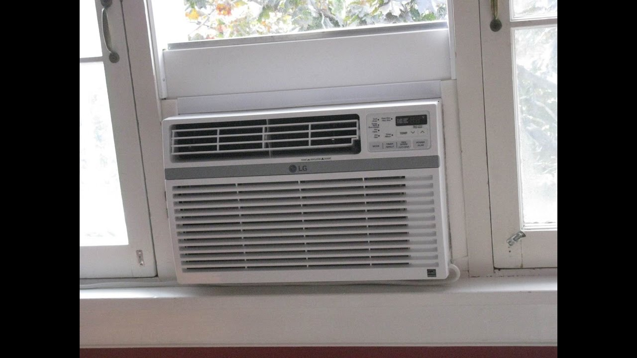 Install An Air Conditioner In An Old Fashioned Casement