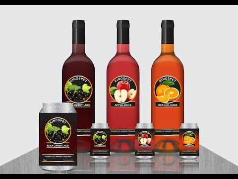 CorelDRAW Tutorial - Wine Bottle and Can Branding Tutorial FULL VIDEO