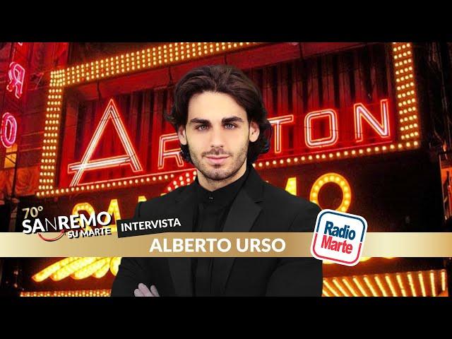 SANREMO SU MARTE - Intervista ad Alberto Urso