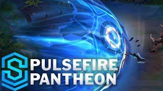 Pulsefire Pantheon Skin Spotlight - League of Legends