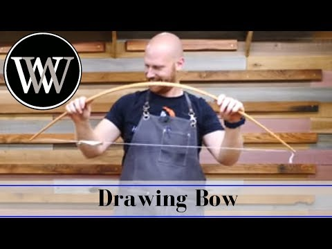 How to make a Drawing Bow Compass - Hand Tool Woodworking