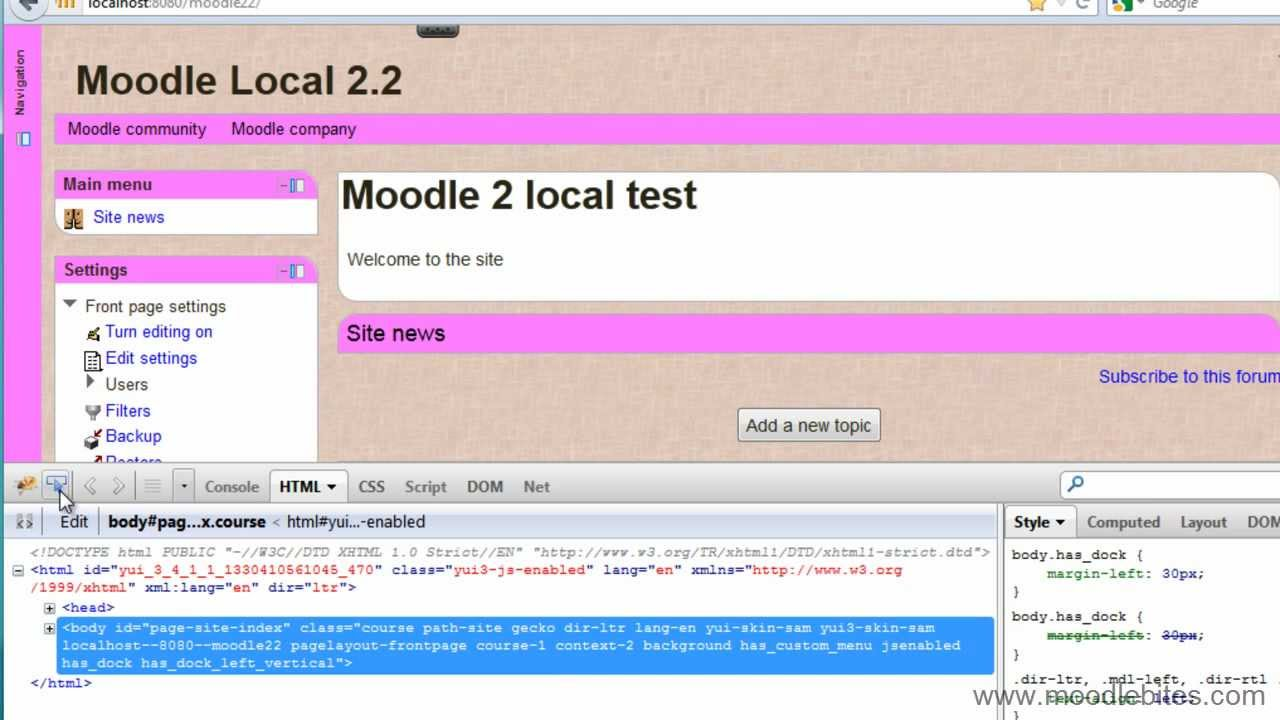 Background image css local path - Moodlebites For Theme Designers Adding Images To A Theme