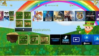 PS4 Dynamic Theme: Saint Patrick's Day Countdown