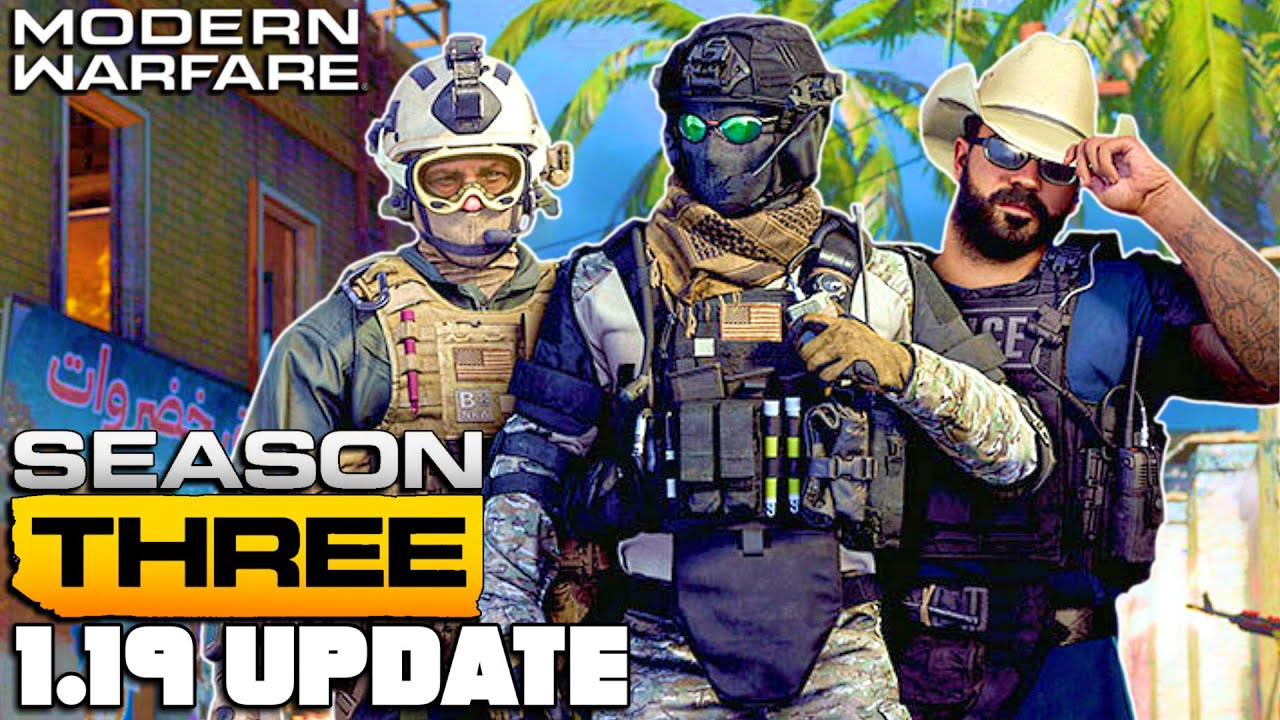 Modern Warfare patch notes for Season 3's update in full