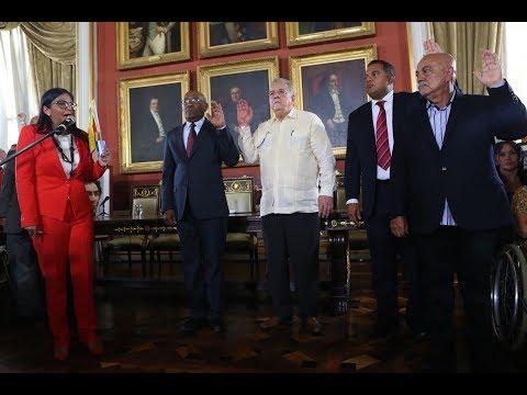 Juramentan a Delcy Rodríguez y al resto de la directiva de la Asamblea Nacional Constituyente