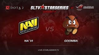 NAVI vs Goomba, SLTV Europe Season 11, Day 11
