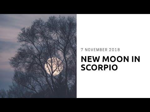 New Moon In Scorpio | 7 November 2018