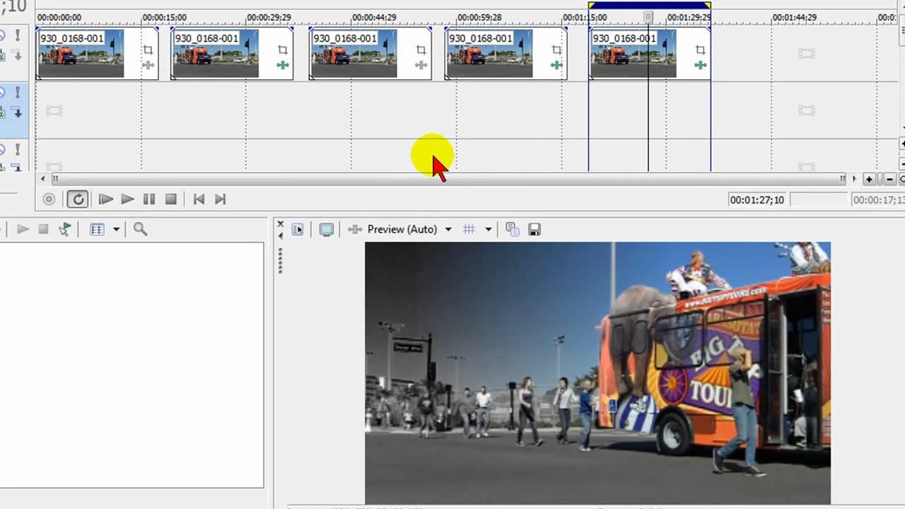 Free video effects for Sony Vegas, Movie Studio, Adobe Premiere