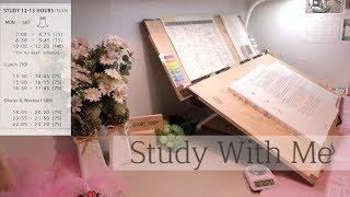 Study with me - live // [2019. 7. 16.] // ♪♬알람Alarm♪♬ // 공시생 실시간 공부방송 //