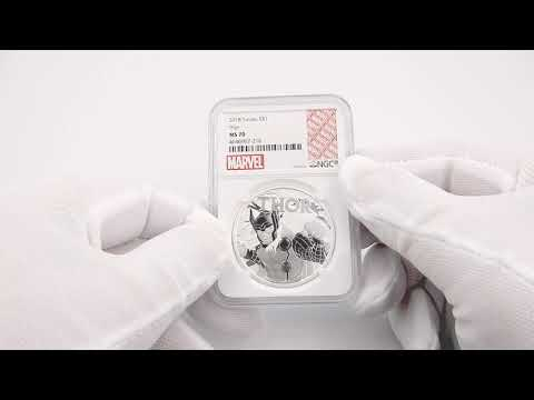 MintBuilder | Unboxing | Marvel | Thor | Silver | Collectable Coins