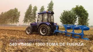 Presentamos el Tractor Farmtrac 6075 E