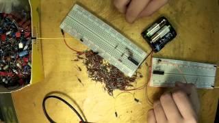 10. Знакомство с компонентами и инструментами для работы с микроконтроллерами PIC (Урок 1. Практика)